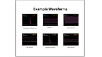 75000 Auto Wave Automotive Voltage / Signal Waveform Viewer Example Waveforms